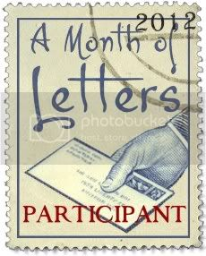Month of Letters Participant